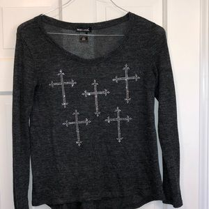 Wet seal long sleeve shirt size small